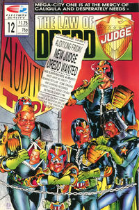 Cover Thumbnail for The Law of Dredd (Fleetway/Quality, 1988 series) #12