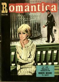 Cover Thumbnail for Romantica (Ibero Mundial de ediciones, 1961 series) #239