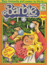 Cover Thumbnail for Barbie (Fleetway Publications, 1985 series) #30