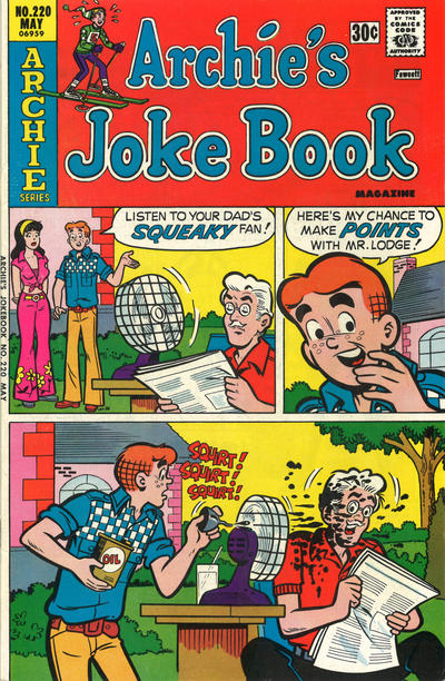 Cover for Archie's Joke Book Magazine (Archie, 1953 series) #220