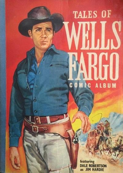 Cover for Tales of Wells Fargo Comic Album (World Distributors, 1959 series) #1