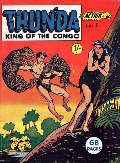 Cover for Action Series (L. Miller & Son, 1958 series) #5
