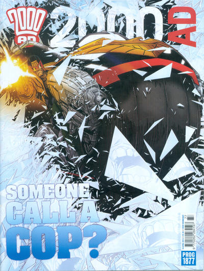Cover for 2000 AD (Rebellion, 2001 series) #1877