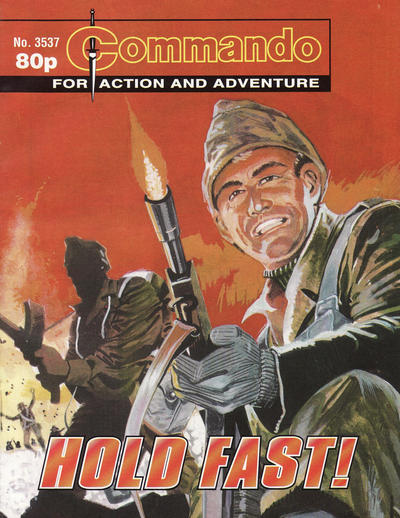 Cover for Commando (D.C. Thomson, 1961 series) #3537