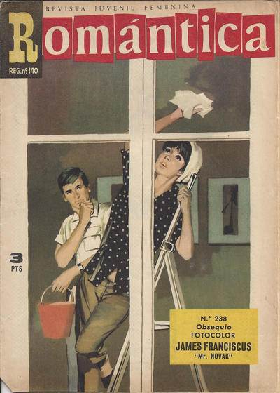 Cover for Romantica (Ibero Mundial de ediciones, 1961 series) #238