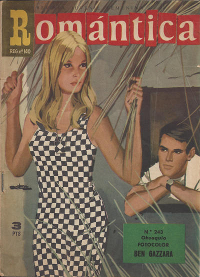 Cover for Romantica (Ibero Mundial de ediciones, 1961 series) #243