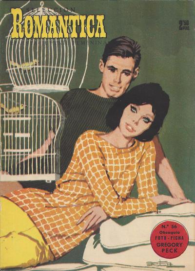 Cover for Romantica (Ibero Mundial de ediciones, 1961 series) #56