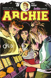 Cover for Archie (Archie, 2015 series) #5 [Cover A Veronica Fish]