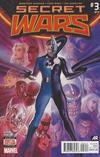Cover for Secret Wars (Marvel, 2015 series) #3 [Second Printing Variant - Alex Ross]