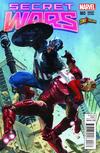 Cover for Secret Wars (Marvel, 2015 series) #3 [ComicXposure Exclusive Gabriele Dell'Otto Variant]
