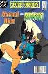 Cover for Secret Origins (DC, 1986 series) #39 [Newsstand]