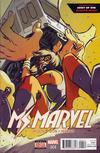 Cover for Ms. Marvel (Marvel, 2016 series) #4