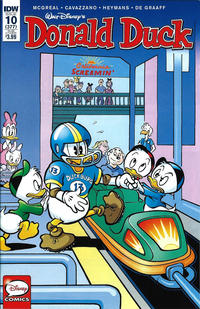 Cover Thumbnail for Donald Duck (IDW, 2015 series) #10 [Subscription Cover]