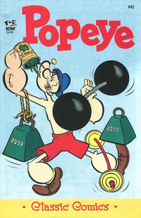 Cover Thumbnail for Classic Popeye (IDW, 2012 series) #43