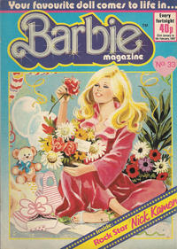 Cover Thumbnail for Barbie (Fleetway Publications, 1985 series) #33