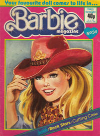 Cover Thumbnail for Barbie (Fleetway Publications, 1985 series) #34