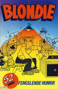 Cover Thumbnail for Blondie (Semic, 1980 series) #1/1987