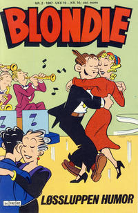 Cover Thumbnail for Blondie (Semic, 1980 series) #2/1987