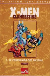 Cover Thumbnail for 100% Marvel : X-Men / Clandestine (Panini France, 1999 series) #1. Le cauchemar des Destine