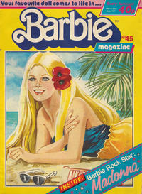 Cover Thumbnail for Barbie (Fleetway Publications, 1985 series) #45