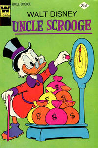 Cover Thumbnail for Uncle Scrooge (Western, 1963 series) #113 [Whitman]