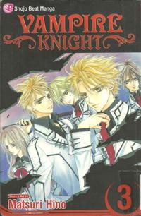 Cover Thumbnail for Vampire Knight (Viz, 2007 series) #3