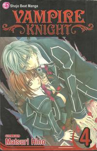 Cover Thumbnail for Vampire Knight (Viz, 2007 series) #4