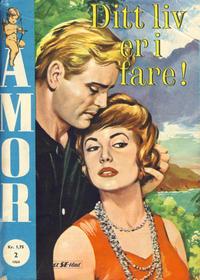 Cover Thumbnail for Amor (Serieforlaget / Se-Bladene / Stabenfeldt, 1961 series) #2/1964