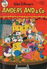 Cover Thumbnail for Anders And & Co. (Egmont, 1949 series) #1/1986