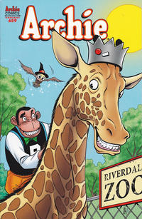 Cover Thumbnail for Archie (Archie, 1959 series) #659 [Zoo-Pendous Variant]