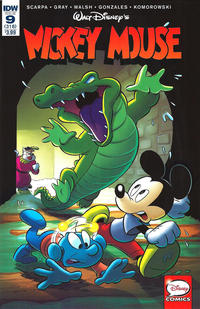 Cover Thumbnail for Mickey Mouse (IDW, 2015 series) #9 / 318 [Regular Cover]