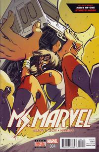 Cover Thumbnail for Ms. Marvel (Marvel, 2016 series) #4