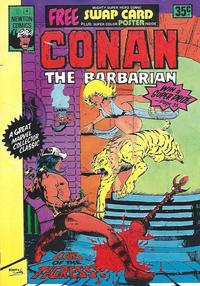 Cover Thumbnail for Conan the Barbarian (Newton Comics, 1975 series) #4