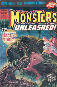Cover Thumbnail for Monsters Unleashed (Newton Comics, 1975 ? series) #1
