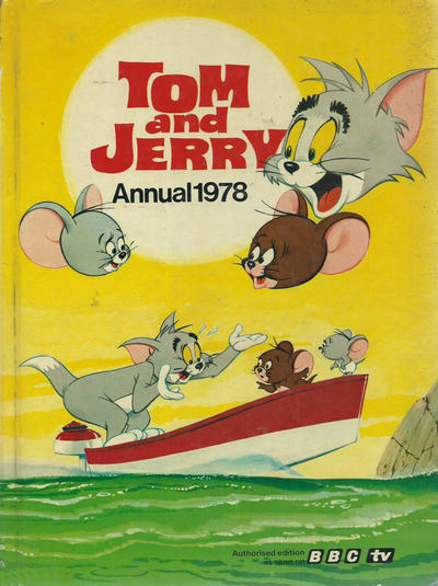 Cover for Tom and Jerry Annual (World Distributors, 1967 series) #1978