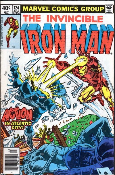 Cover for Iron Man (Marvel, 1968 series) #124 [Direct Edition]
