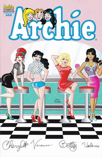 Cover for Archie (Archie, 1959 series) #660
