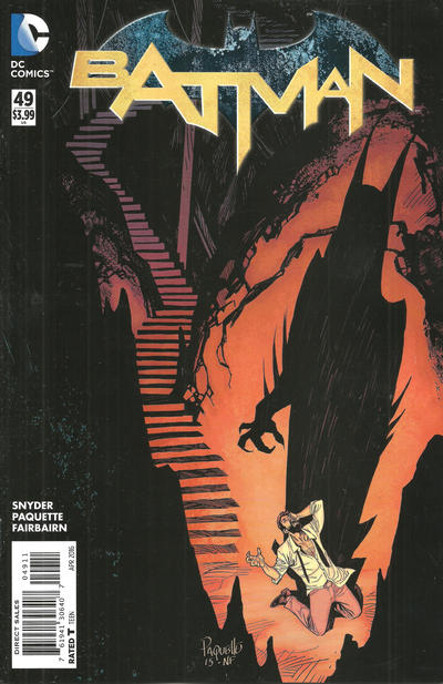 Cover for Batman (DC, 2011 series) #49 [Neal Adams Cover]