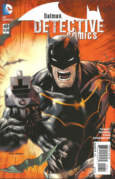 Cover for Detective Comics (DC, 2011 series) #49