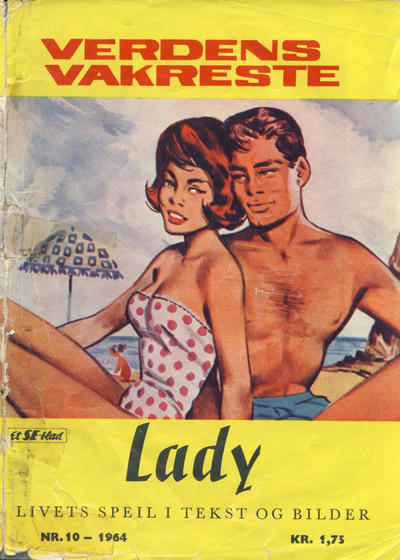 Cover for Lady (Serieforlaget / Se-Bladene / Stabenfeldt, 1964 series) #10/1964
