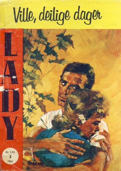 Cover for Lady (Serieforlaget / Se-Bladene / Stabenfeldt, 1964 series) #3/1965