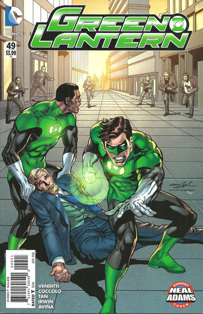 Cover for Green Lantern (DC, 2011 series) #49 [Neal Adams Variant]