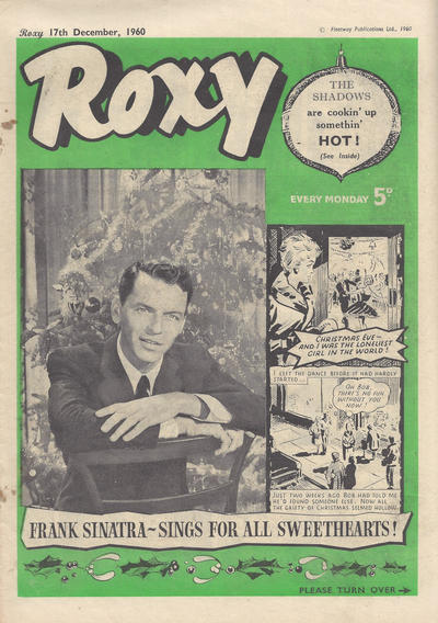 Cover for Roxy (Amalgamated Press, 1958 series) #17 December 1960 [145]