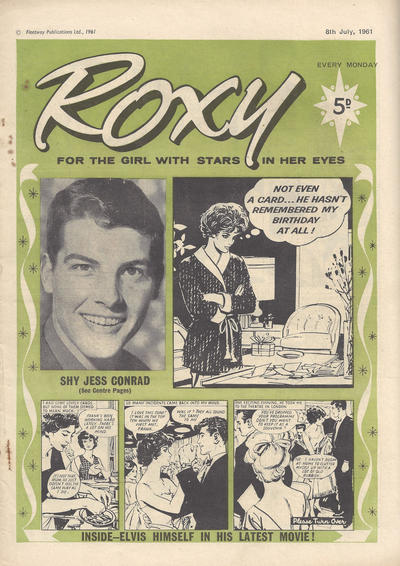 Cover for Roxy (Amalgamated Press, 1958 series) #8 July 1961 [174]