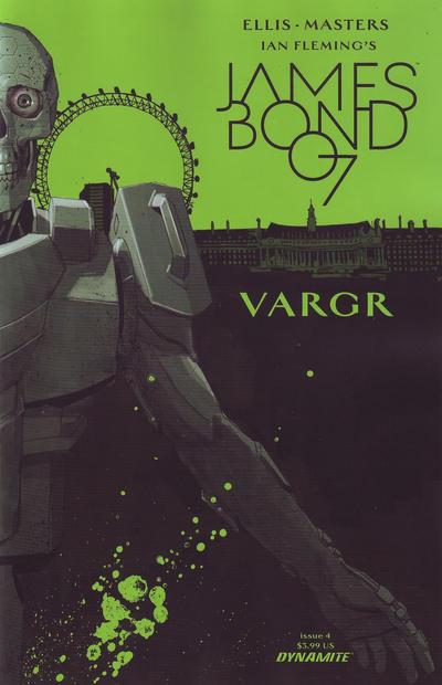 Cover for James Bond (Dynamite Entertainment, 2015 series) #4