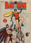 Cover for Batman Comics (K. G. Murray, 1950 series) #4