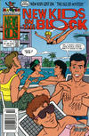 Cover for The New Kids on the Block: NKOTB (Harvey, 1990 series) #7 [Newsstand]