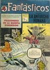Cover for Los 4 Fantásticos (Editora de Periódicos La Prensa S.C.L., 1962 series) #21