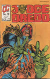 Cover for Judge Dredd (Fleetway/Quality, 1987 series) #10 [Orange background]