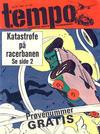 Cover for Tempo (Hjemmet / Egmont, 1966 series) #25/1967 [Prøvenummer]